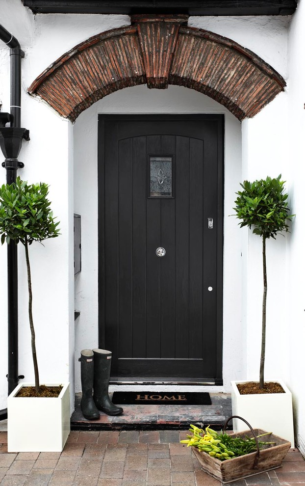 Dazzling funny welcome mats in Entry Contemporary with Colonial Front Doors  next to Front Gates And Fences  alongside Modern Gates And Fences  and Front Steps Railing