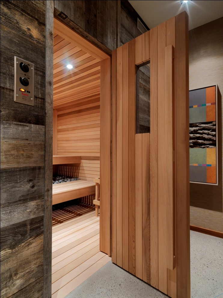 Elegant dr infrared heater in Bathroom Rustic with Man Cave Garage  next to Air Stone  alongside Men Home Decor  and Basement Drop Ceiling