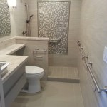 Elegant moen kingsley in Bathroom Transitional with next to alongside and
