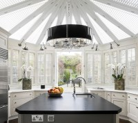 Elegant puck lights in Kitchen Contemporary with Pictures ...