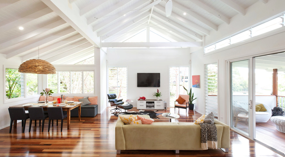 Glamorous little tikes first slide in Living Room Contemporary with Pop Ceiling Bedroom Design  next to Wall Mount Tv  alongside Cathedral Ceiling  and Exposed Ceiling
