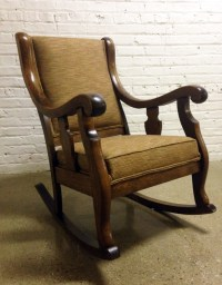 Upholstered Rocking Chair. Stunning Diy Les Touches ...