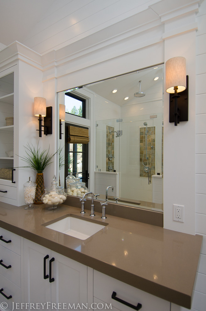 Gorgeous kohler puristin Bathroom Contemporary with