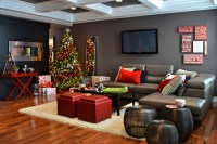 Gorgeous rotating christmas tree stand in Living Room ...