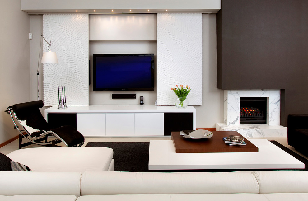 Gorgeous Sauder Tv Stands In Living Room Contemporary With