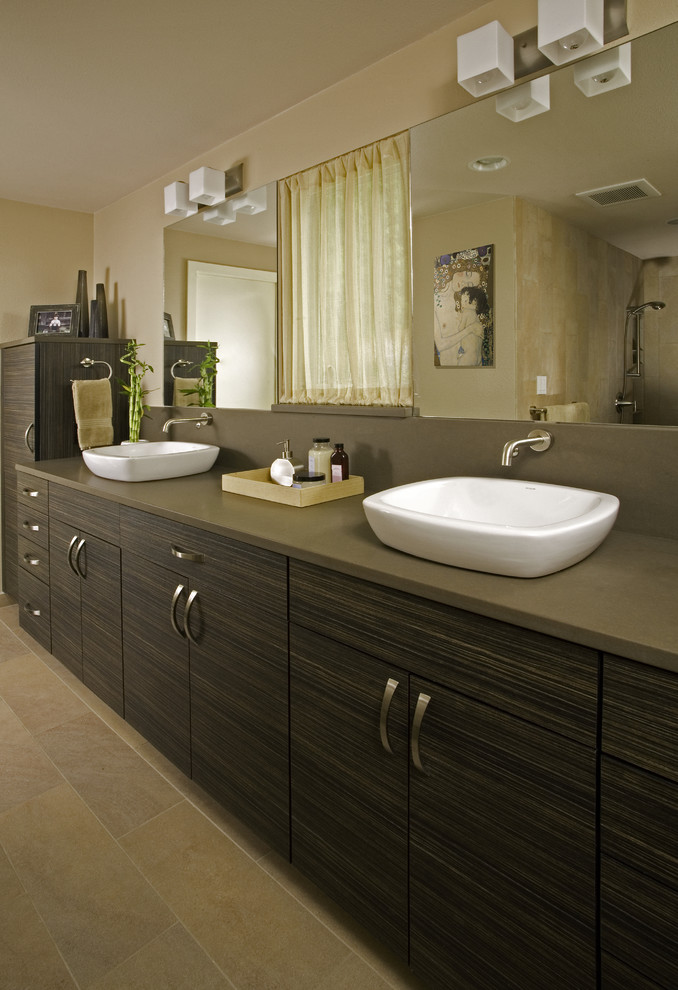 Superb decolavin Bathroom Beach Style with Engaging Above