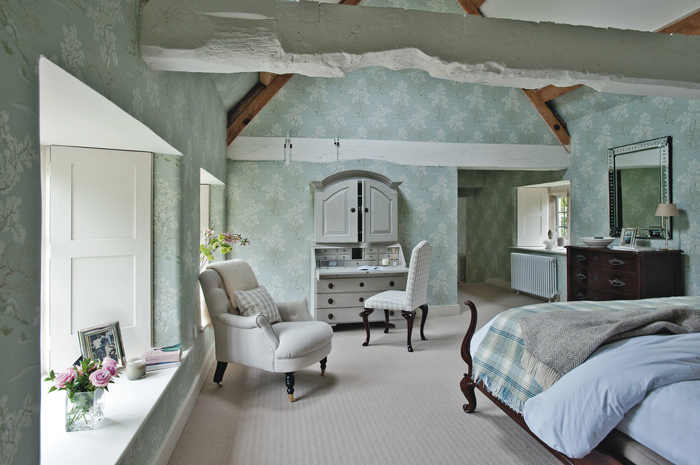 Innovative duck river textile in Bedroom Farmhouse with Bedroom Curtain Ideas  next to One Bedroom Apartment Design  alongside Black Furniture  and Master Bedroom Paint Ideas