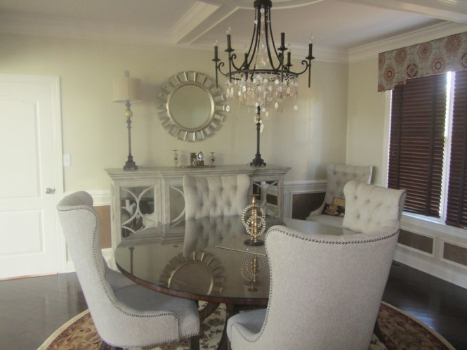 Innovative Feiss In Dining Room Contemporary With Uttermost Mirrors Next To Sorbolo Alongside Sunburst Chandelier
