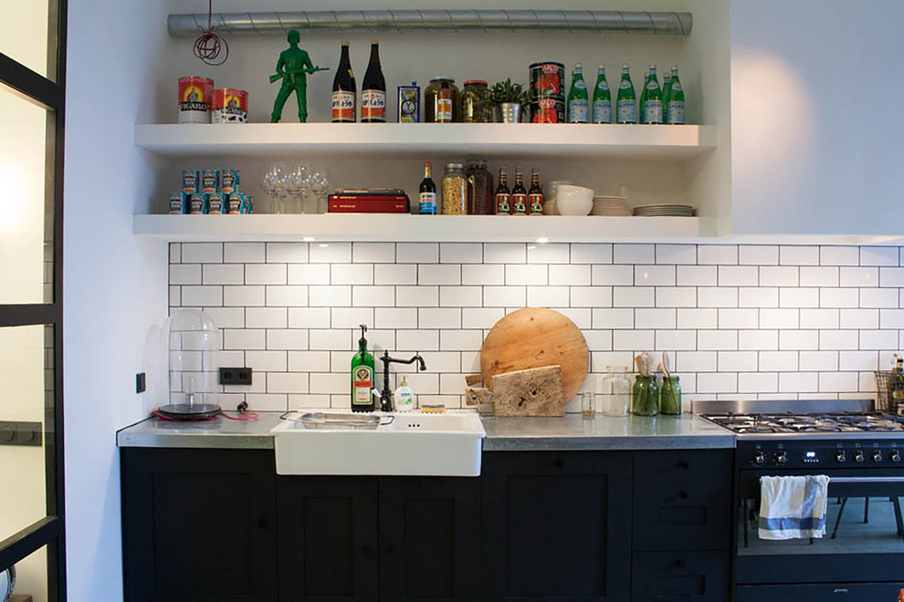 Inspired Corner Liquor Cabinet In Kitchen Industrial With