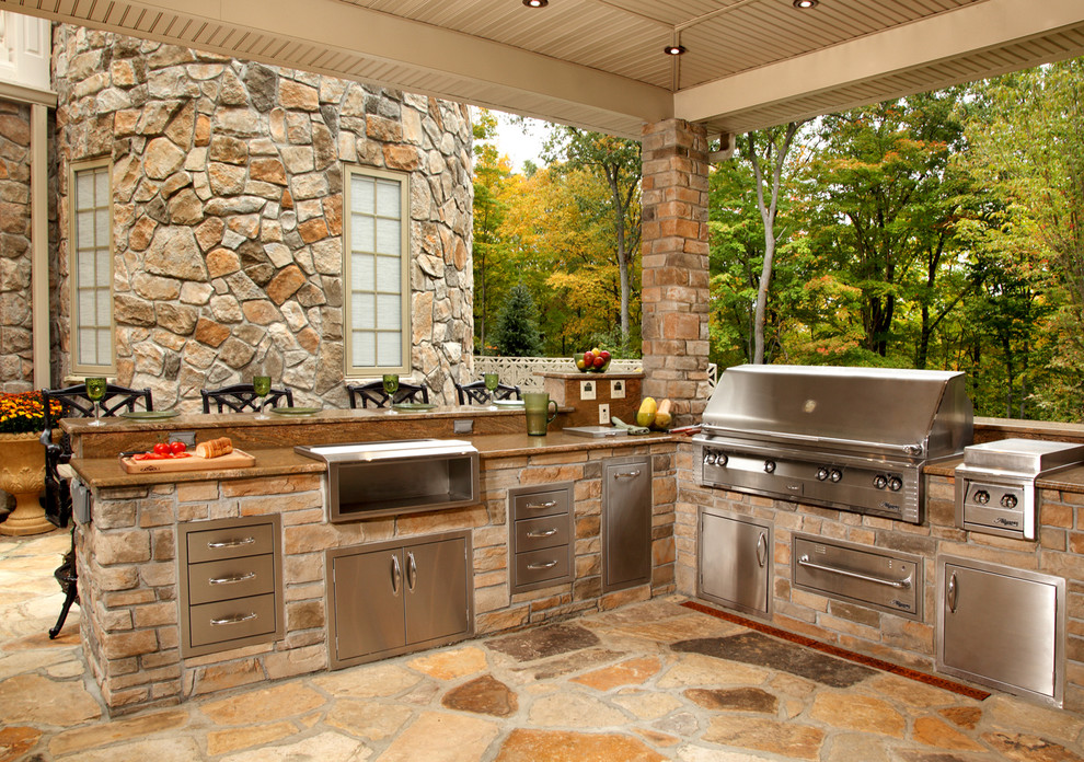 Inspired Outdoor Griddle In Patio Contemporary With