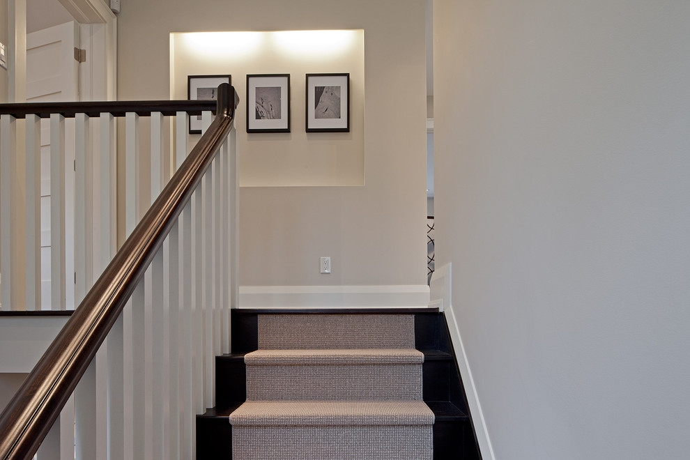 Inspired Stair Treads Carpetin Staircase Traditional With Graceful | Stair Treads For Carpeted Stairs | Wood Stairs | Laminate | Anti Slip Stair | Basement Stairs | Skid Resistant