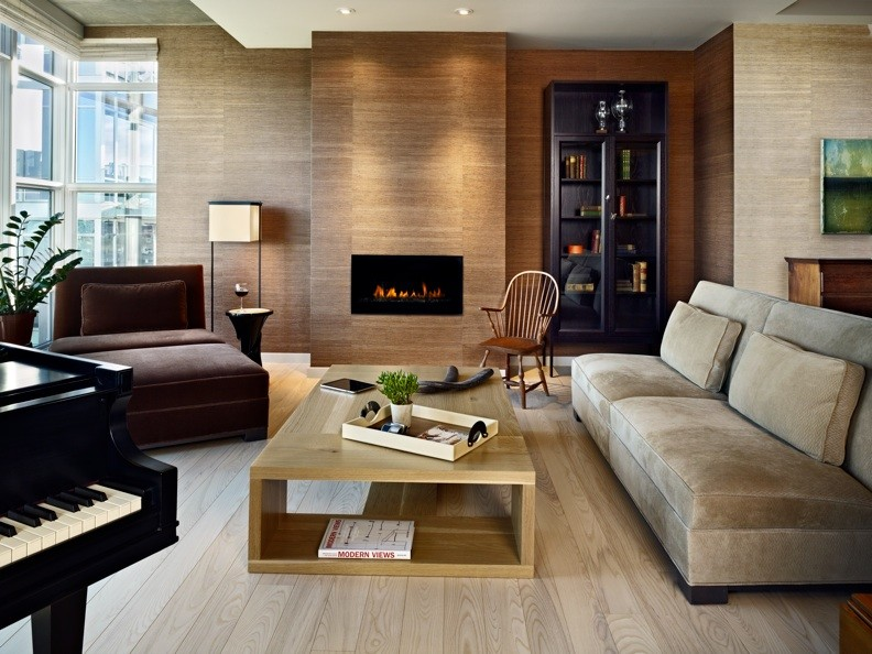 Magnificent Armless Sofa In Living Room Contemporary With