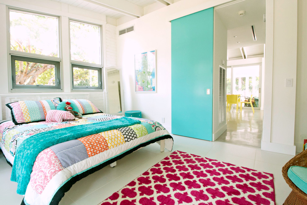 Magnificent bedspreads for teens in Bedroom Beach Style with Ceiling Mount Curtain Track  next to Painted Interior Doors  alongside Teen Bedroom Paint  and My Houzz