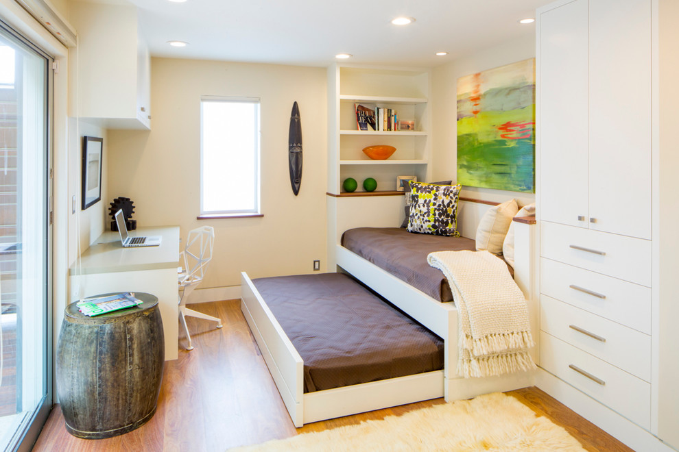 Magnificent daybed trundle in Home Office Contemporary with Built In Beds next to Twin Over Queen Bunk Bed alongside Queen Over Queen Bunk Bed and Girls Bedroom