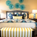 Magnificent ikat bedding in Bedroom Contemporary with Ikat Pattern next to Citron Yellow alongside Ikat Bedding and Citron Colour