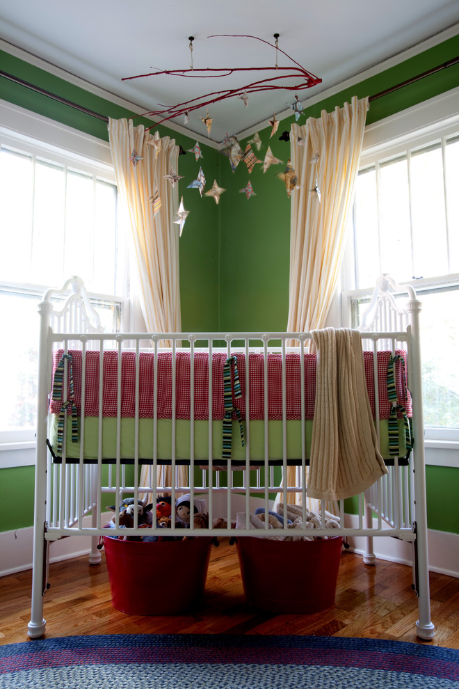 Pretty camo crib bedding in Nursery Eclectic with Over Crib  next to Medallion Hung Drapes  alongside Modern Baby Crib  and Nursery