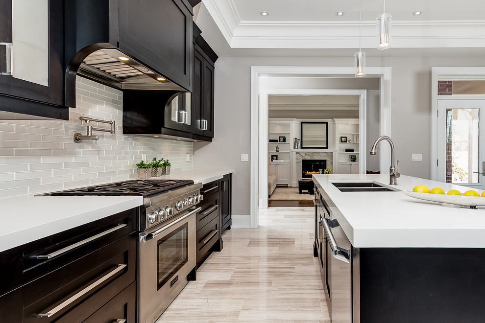 Pretty Hansgrohe Talis C In Transitional Toronto With Gray Owl 2137 60 Benjamin Moore Next To