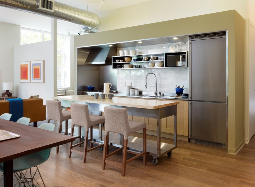 Pretty movable kitchen islands in Kitchen Modern with Hanging Kitchen Cabinets  next to Kitchens  alongside Small Kitchen Island  and Dining Table Seats Fourteen