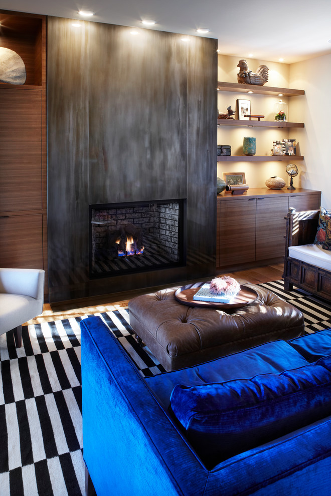 Inspired sears electric fireplace in Kitchen Traditional