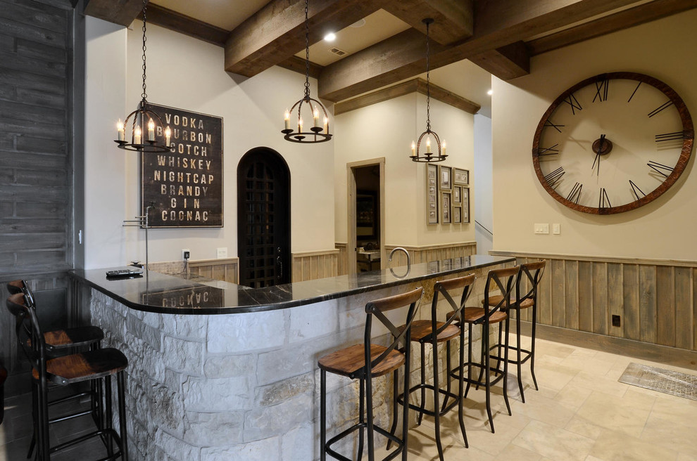 Splashy Counter Stools With Backs In Home Bar Rustic With