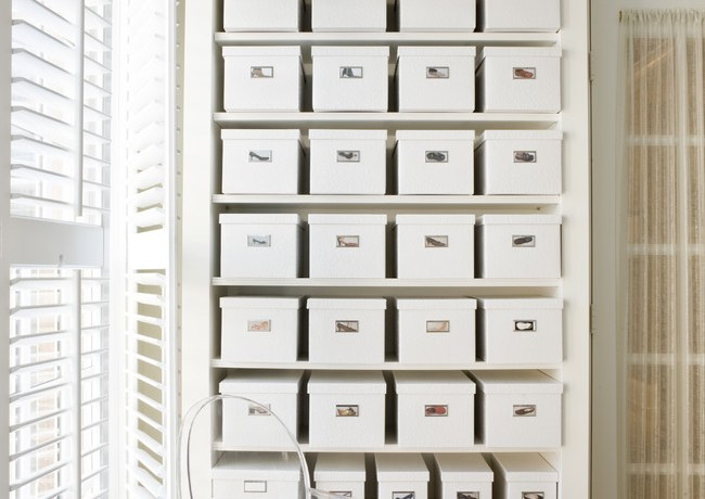 Splashy decorative storage boxes with lids in Closet Contemporary with False Ceiling Photos next to Pictures Of Bungalow Homes alongside Large Container Planting Ideas and How To Divide Studio Apartment