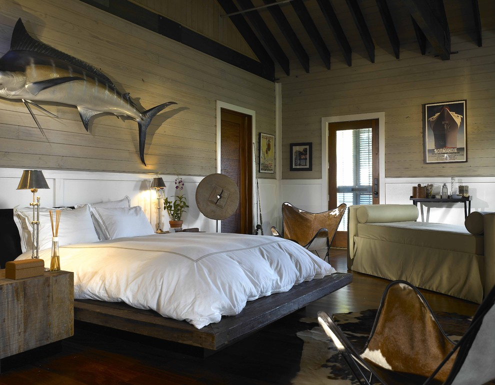 Sumptuous day bed covers in Bedroom Eclectic with Board And Batten Walls  next to Wood Bed  alongside Queen Size Platform Bed Plans  and Bedroom Decoration