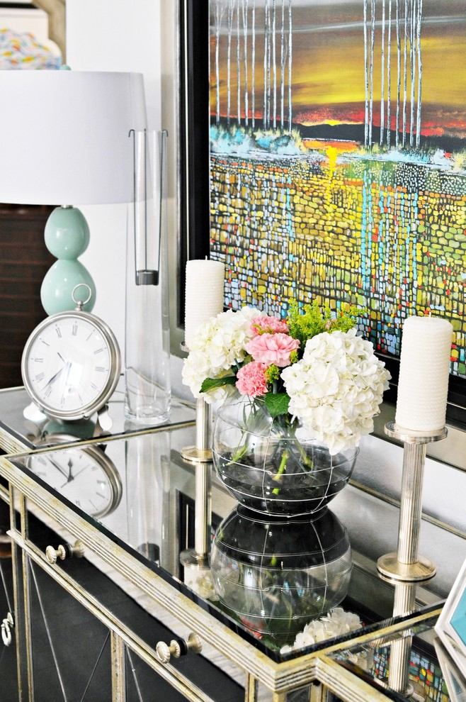 Superb Mirrored Buffet Remodeling Ideas For Dining Room Contemporary