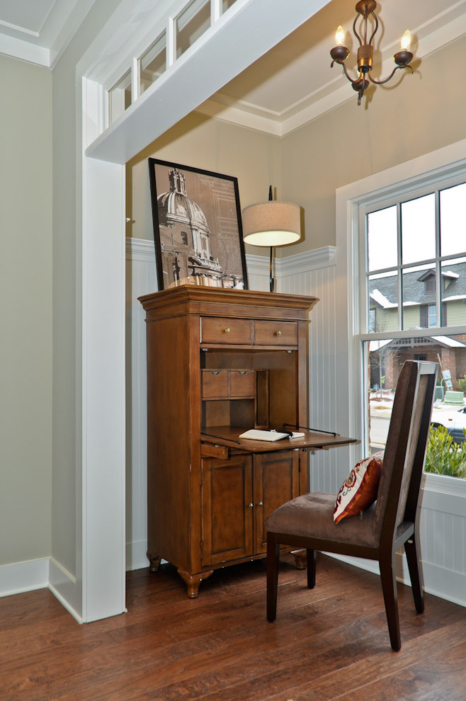 Sumptuous secretary desks in Living Room Traditional with