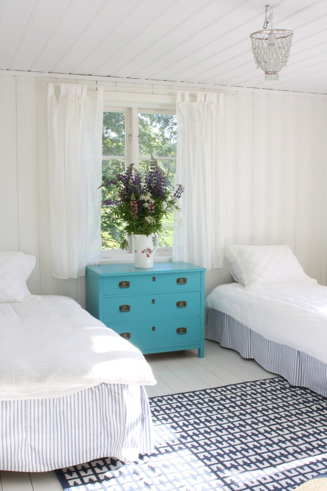 Superb white ruffle curtains in Bedroom Rustic with Bedroom Curtain Ideas  next to Decorating A Blue Couch  alongside One Bedroom Apartment Design  and Funky Teen Bedrooms
