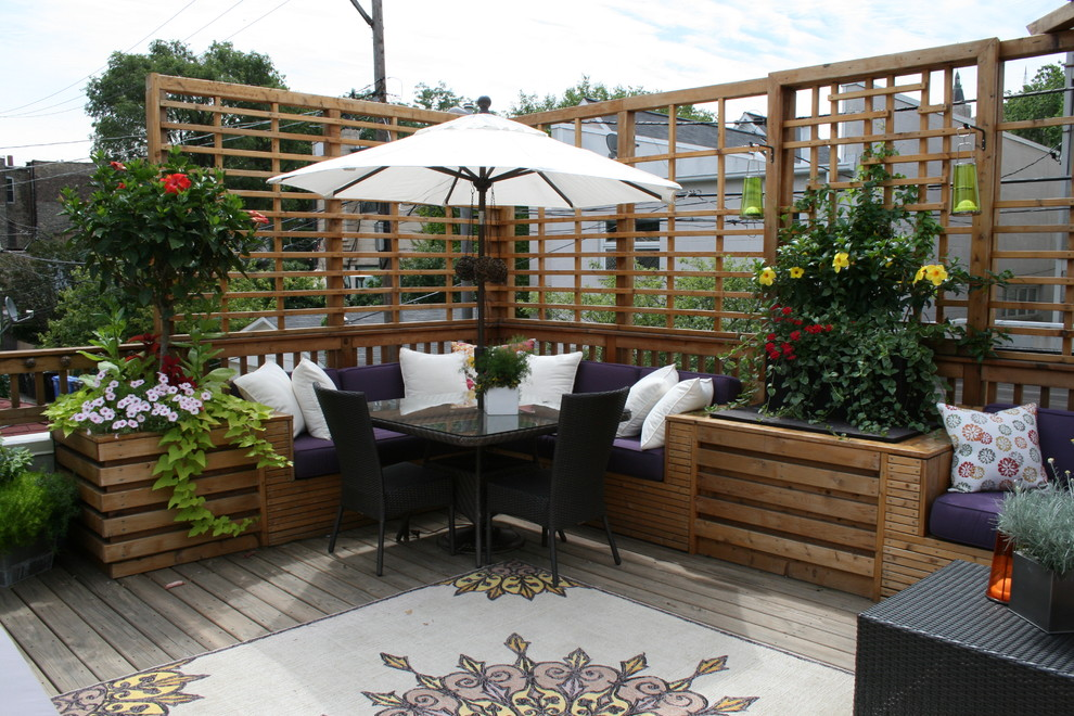 Privacy Fence Ideas  Covered Deck