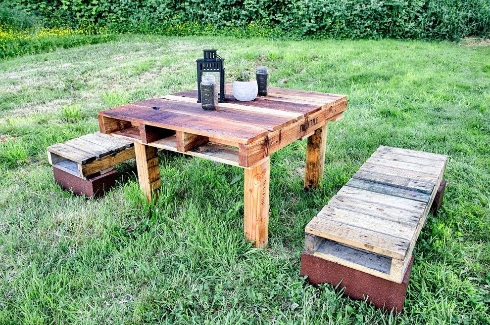 Dining Table Seats Fourteen  Cheap Backyard Landscaping