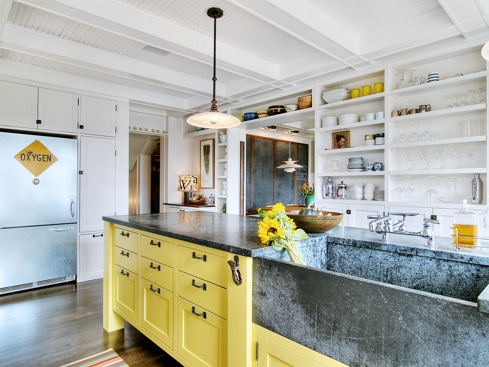 French Country Kitchen Ideas  Modern Steel Gate