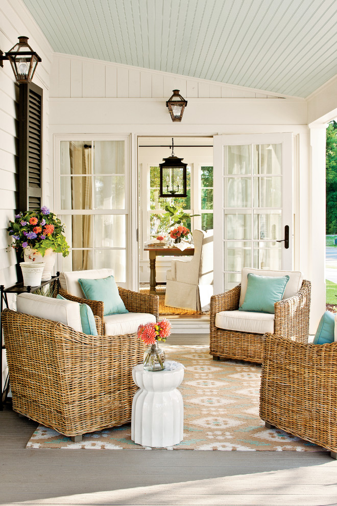 Modern Small House Designs Back Porch