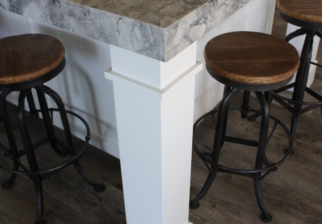 industrial bar stool kitchen farmhouse with