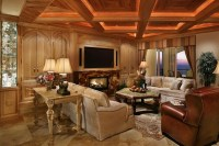 Cathedral Ceiling Lighting Living Room Modern with Pendant ...