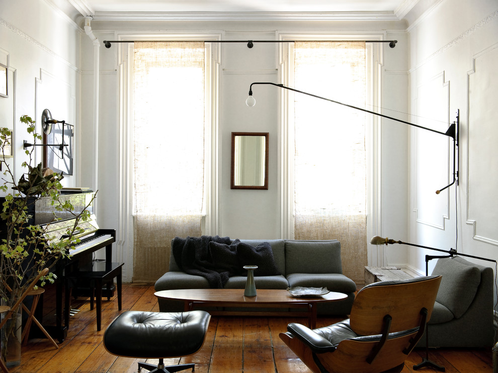 curved curtain rods living room