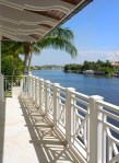 Deck Railing Designs Exterior Contemporary with Steel Girders Tiles and Planks