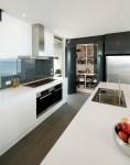 Kitchen Cabinets Pantry industrial with Breakfast Bar Contemporary Tea Kettles