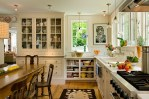 Kitchen Sink Ideas Traditional with Subway Tile Marble Multiuse Tiles