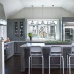10x10 kitchen remodel transitional with gray stone and countertop professionals