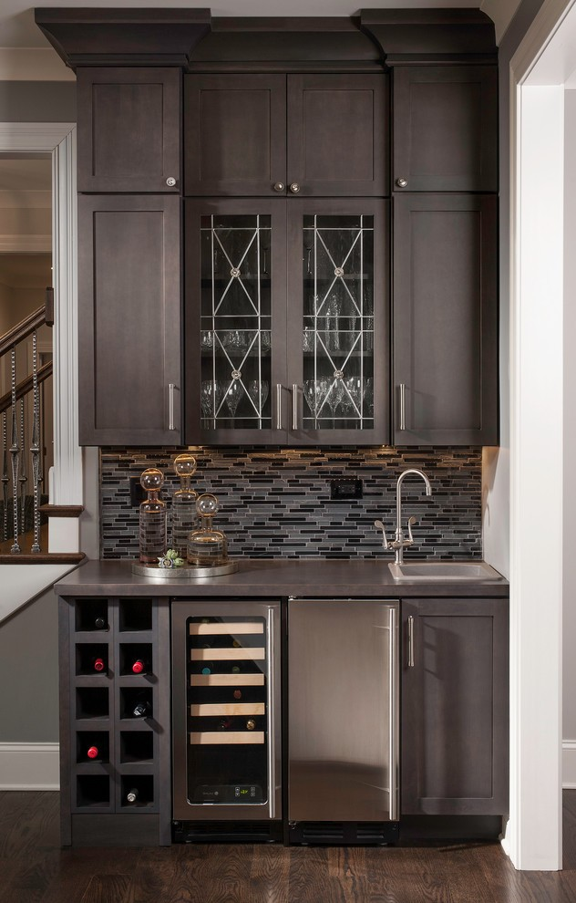 bar sink cabinet home traditional with