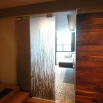 barn sliding doors kitchen contemporary with roll up window treatments table vases
