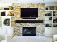 Black Fireplace Mantel Living Room Rustic with Novelty ...