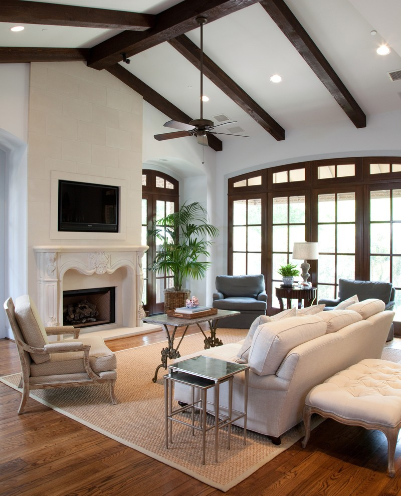 Cast Stone Fireplace Living Room Atlanta with Chimney Cleaners