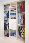 Closet Organizer Systems with Garage Storage Units Design Cubby Hole