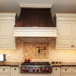 Lowes Copper Kitchen Sink Chelsea Nook Vent Hoods Traditional Baltimore With Round ...