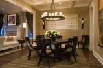 Cream Dining Table with Place Settings Bespoke Furniture Centerpiece