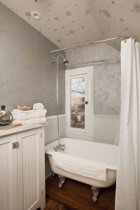Cute Shower Curtains Bathroom Contemporary with Chandelier ...