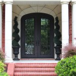 front porch lighting exterior craftsman with lawn shaped stepping stones