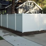 front yard fences patio contemporary with gravel brown garden fencing